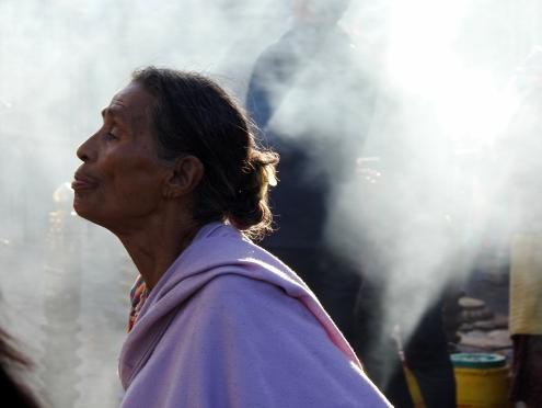 Worship in Kathmandu